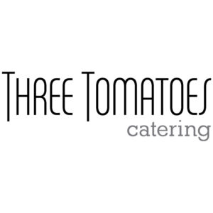 Three Tomatoes Catering logo